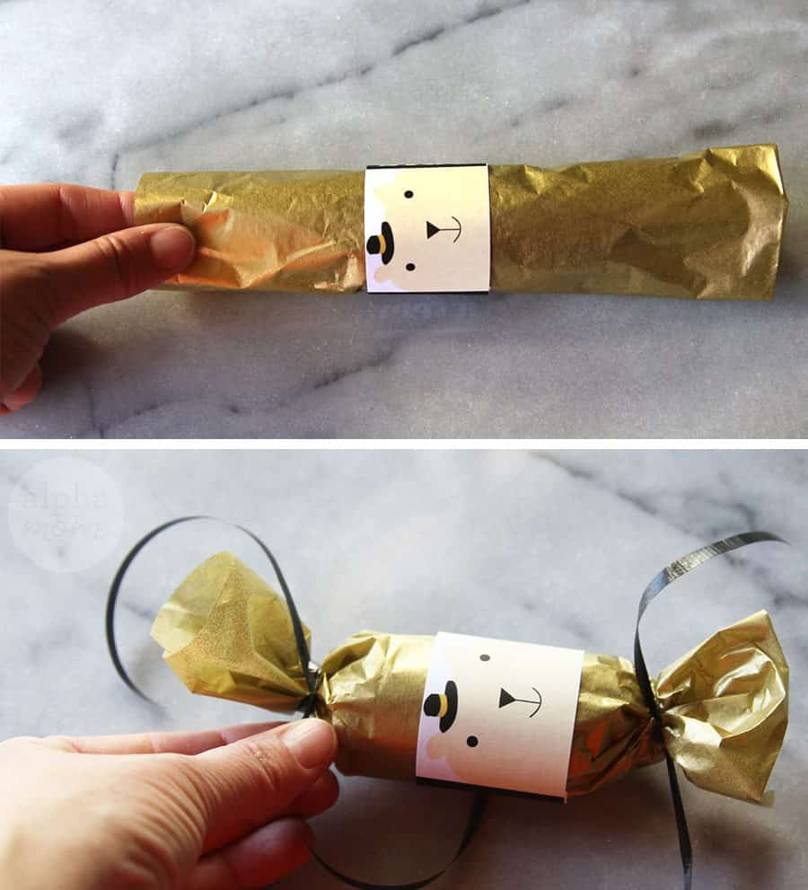 DIY New Year's Mini Confetti Poppers! (how-to) by Brenda Ponnay for Alphamom.com