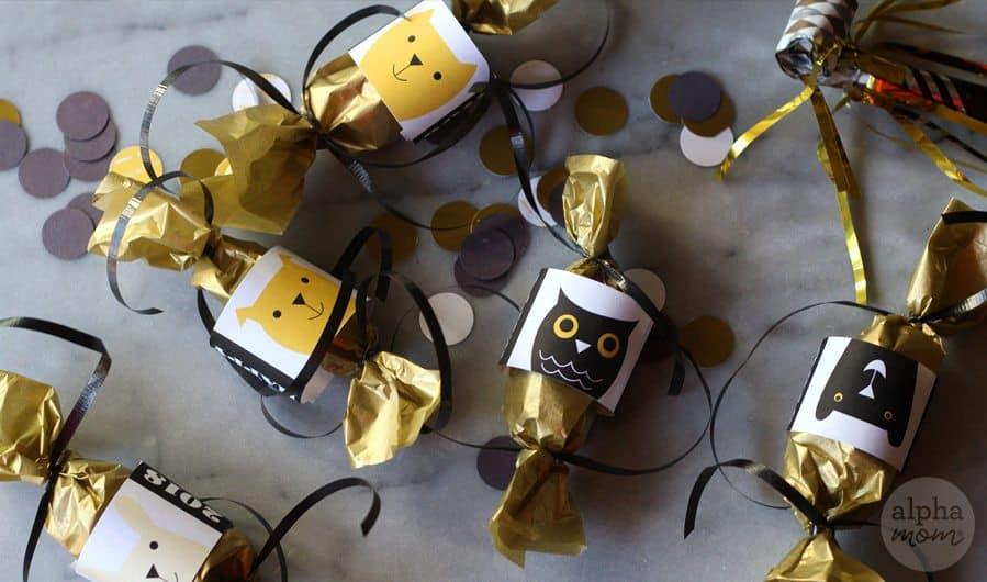 DIY New Year's Mini Confetti Poppers! by Brenda Ponnay for Alphamom.com