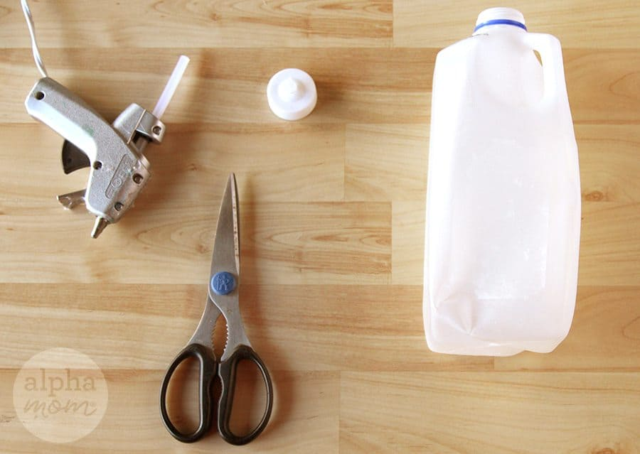 How to make Pretty Flower (or Ice Shard) Tea Light Votives (supplies) by Brenda Ponnay for Alphamom.com