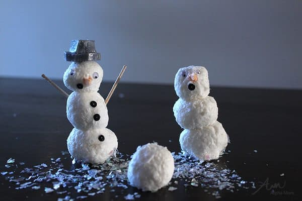 DIY Snowman Soap! by Brenda Ponnay for Alphamom.com