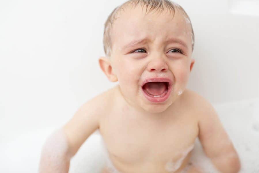 Dealing with Baby Bath Time Fears