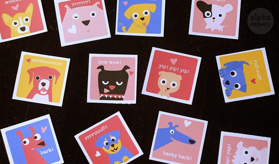 Puppy Valentines by Brenda Ponnay for Alphamom.com