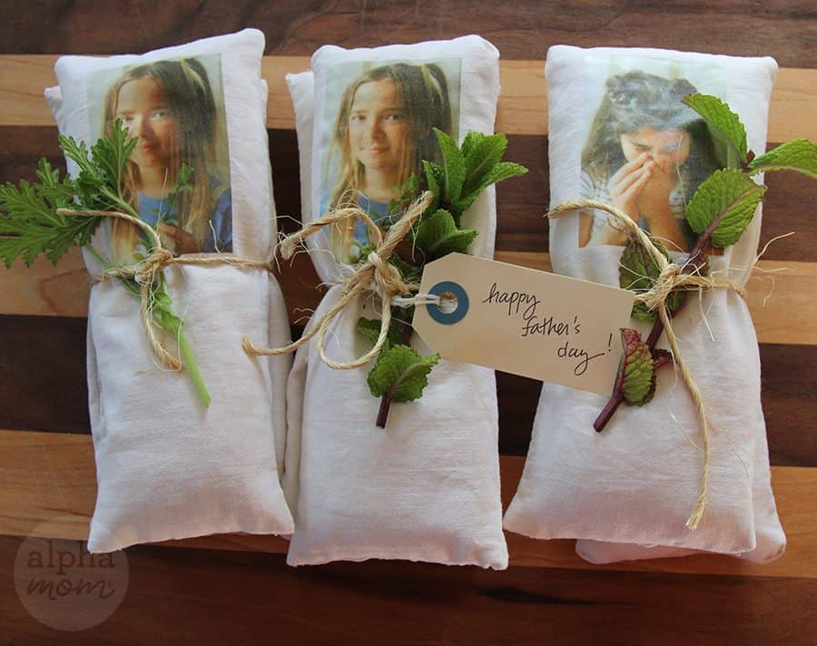 Funny Shoe Deodorizer Sachets wrapped with twine and herbs
