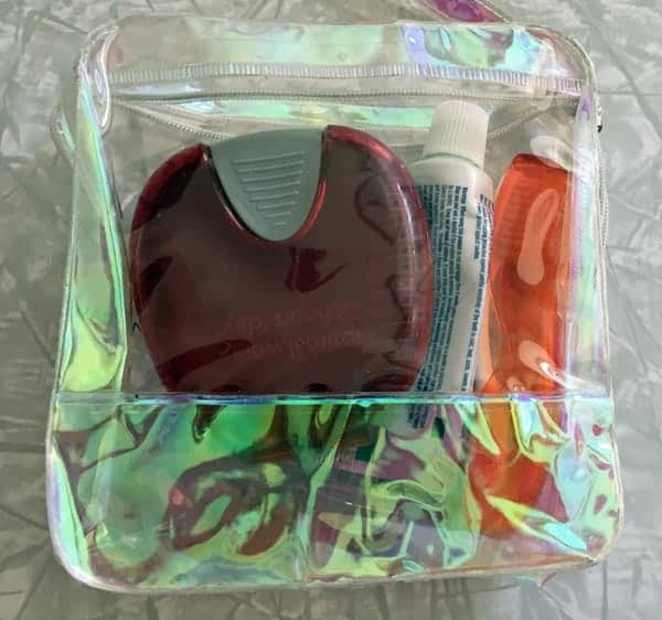 "Invisalign Aligner ""go bag"" #sponsored #InvisalignTreatment #InvisalignAligners #InvisalignTrays"