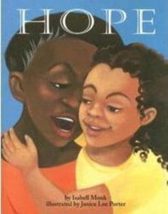 Children's Books That Celebrate Diversity: Hope by Isabell Monk #racialidentity #childrensbooks #celebratedifferent