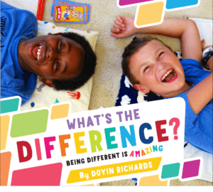 Children's Books That Celebrate Diversity: What's the Difference? Being Different is Amazing #racialidentity #childrensbooks #celebratedifferent