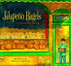 Children's Books That Celebrate Diversity: Jalapeno Bagels #racialidentity #childrensbooks #celebratedifferent