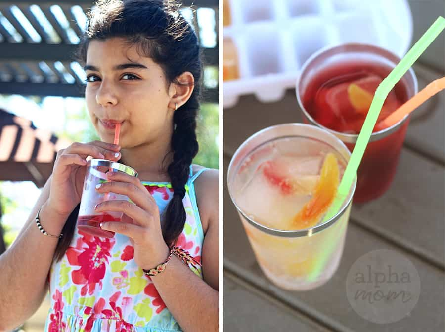 Yummy Gummy Candy Summer Drinks for Kids! by Brenda Ponnay for Alphamom.com #GummyWorms