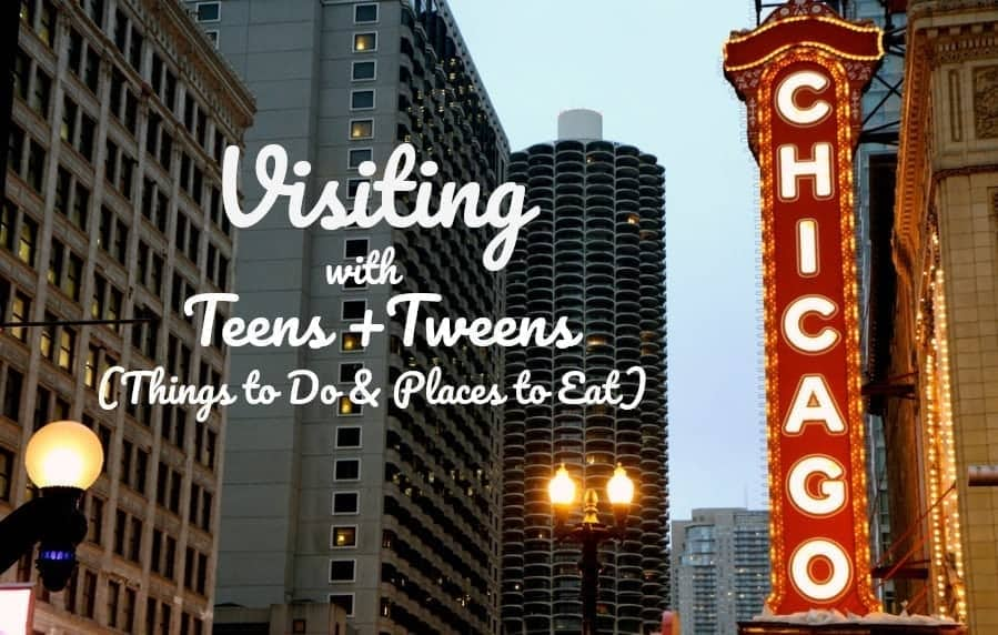 Visiting Chicago with Teens & Tweens (Fave Things to Do and Places to Eat) #FamilyVacation #FamilyTrip #ChicagoVacation #SummerTrip #CityVisit #CityGuide #TeenTravel #FamilyTravel #TravelingWithKids #TravelWithTeens