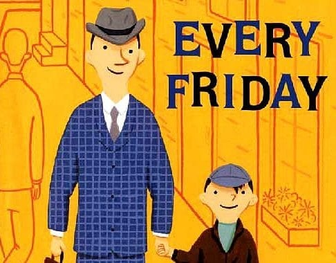 Father's Day Gift Idea: Every Friday children's book #FathersDay #FathersDayGift #FathersDayidea #ChildrensBook