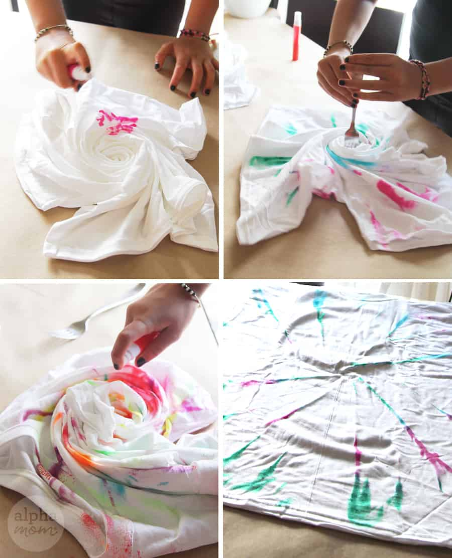 How to Make T-Shirt Swimsuit Cover-Ups by Brenda Ponnay for Alphamom.com #SummerCraft #BeachCraft #KidCraft #SummerFun #TweenCrafts