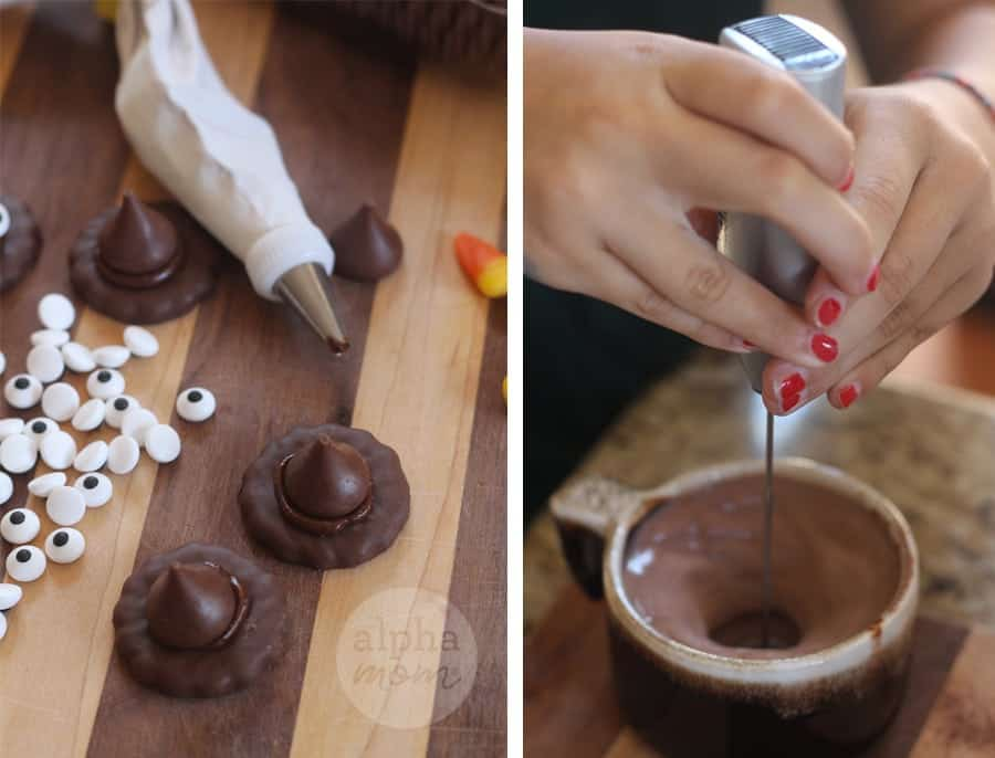 Witches' Brew of Hot Chocolate Recipe for Halloween (DIY)