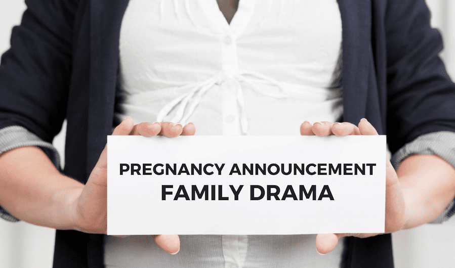 Breaking the Pregnancy News to a Broken Relationship