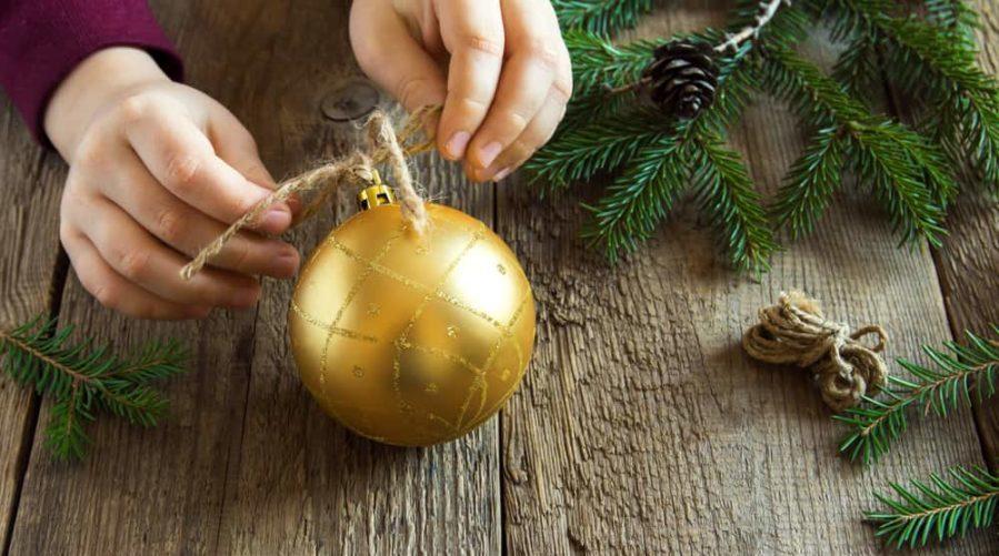 Handmade Christmas Ornaments Kids Can Make