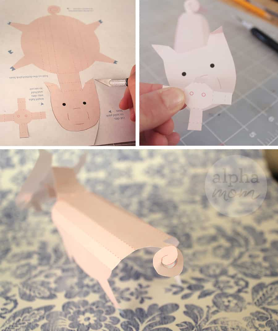 3d pig printable assembly