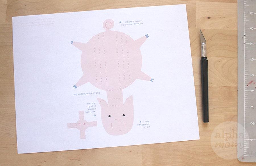 3D pig printable