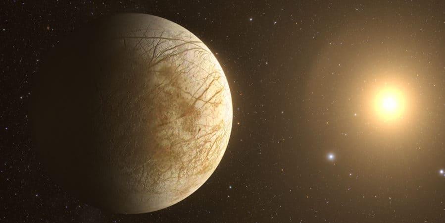 Jupiter Europa Moon