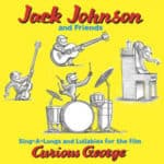 Jack Johnson's album cover for Curious George movie