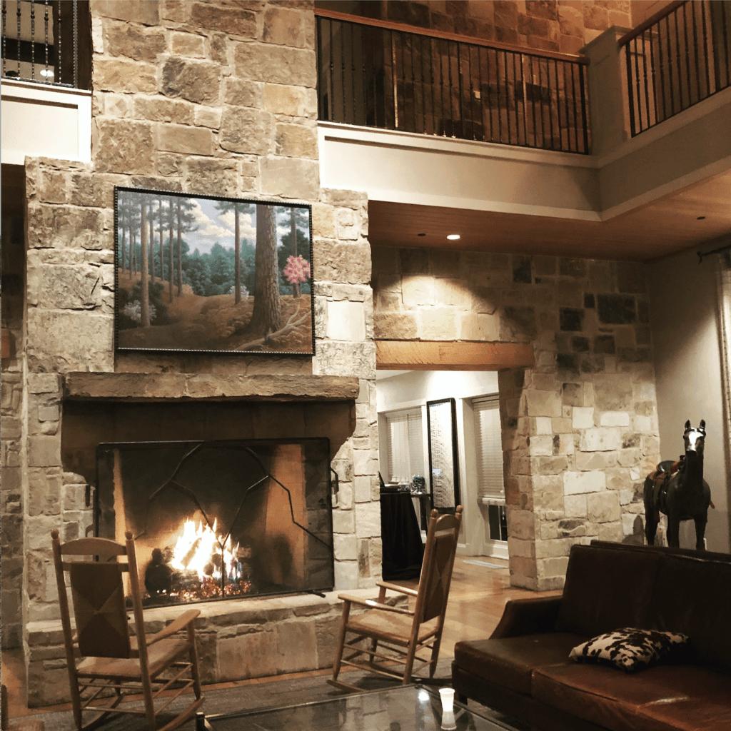 lobby at Regency Hyatt Los Pines Resort in Texas